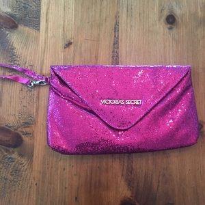 Victoria's Secret Pink Sparkle Wristlet